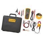Fluke 1587/i400 FC — комплект мультиметр-мегомметр c функцией беспроводной связи + токовые клещи