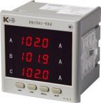 PA194I-9X4 — амперметр 3-канальный (общепромышленное исполнение)