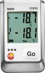 Testo 175 T2—2х-канальный логгер данных температуры с внутренним сенсором и разъемом для внешнего  ...