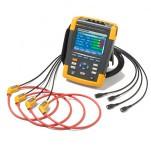 Fluke 438 II — анализатор качества электроэнергии и работы электродвигателей