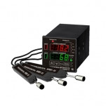 ИВТМ-7/4-Щ2 — четырехканальный стационарный измеритель-регулятор влажности и температуры в щитовом и ...