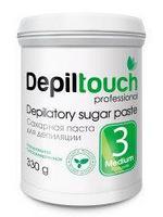 Сахарная паста для депиляции Depiltouch  330г Средняя