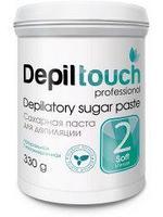Сахарная паста для депиляции Depiltouch  330г Мягкая