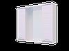 Шкаф навесной, Water World Вероника 1000, 100*70*17 (Белый снег, Молочный глянец)(4603745584345)