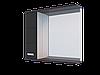 Шкаф навесной, Water World Квадро 800,80*70*17 ( Белый снег, Молочный глянец)(4603745585991)