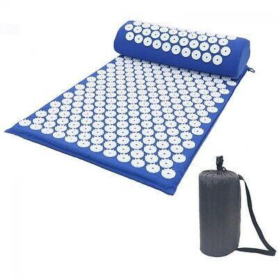 Аппликатор Кузнецова массажный акупунктурный коврик с подушкой и чехлом