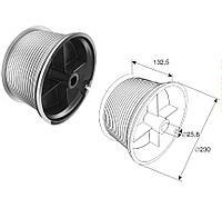 Барабан для стандартного подъема М 203 H=9780 мм