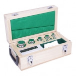 Е2-10 мг-5 кг — набор гирь, класс точности E2, масса от 10 мг до 5 кг, 24 шт.