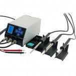 Магистр Ц20-ТриК-М—трехканальная паяльная станция с прозвонкой электрических цепей