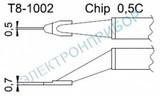 T8-1002 — паяльные сменные композитные головки для термопинцета FМ-2022