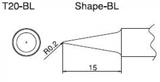 T20-BL паяльная сменная композитная головка для станций FX-838