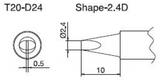 T20-D24 паяльная сменная композитная головка для станций FX-838