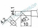 T12-C4Z паяльная сменная композитная головка для станций FX-950/ FX-951/FX-952/FM-203