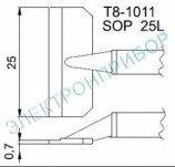T8-1011 паяльные сменные композитные головки для термопинцета FМ-2022
