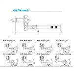 N1-23 паяльные сменные композитные головки для HAKKO FМ-2024
