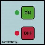 Commeng CR CS-1901 — выключатель нагрузки переменного тока для применения в чистых помещениях