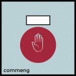 Commeng CR CS-1704 — инфракрасный датчик для применения в чистых помещениях