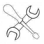 Набор инструментов для монтажа и ремонта СИП №3