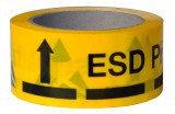 A-7418 — клейкая лента желтого цвета с маркировкой ESD
