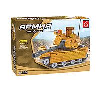 Игровой конструктор Ausini 22504 Армия Средний танк ASN 229 деталей Цветная коробка