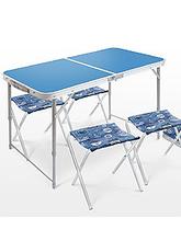 Комплект Ника ССТ-К2 стол+4стула складной