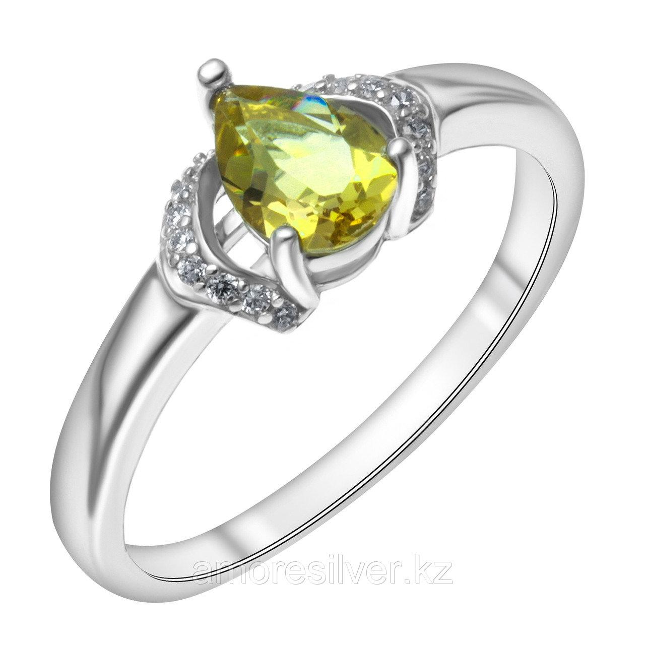 "Кольцо Teosa серебро с родием, ""halo"" R-DRGR00958-SU размеры - 18"