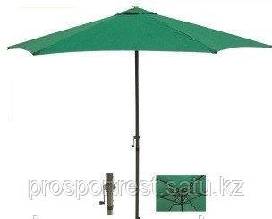 Зонт летний ART-Wave с подставкой (d=2.7м), зеленый