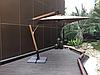 Зонт Wood Lux, 3х3м, квадратный, синий, фото 2