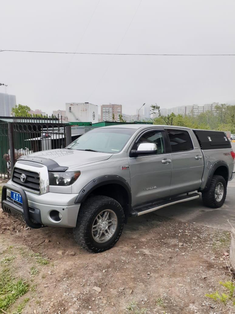Кунг экспедиционный трехдверный - Toyota Tundra (2007-2013 г.в.)