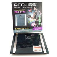 """Весы-анализаторы """"умные"""" напольные PROLISS Wizard Aid с расчетом показателей состава тела (Черный графит)"""