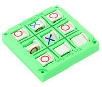 Игра-стратегия на логику карманная «Крестики-нолики» (Салатовый)