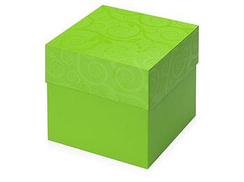 Подарочная коробка Древо жизни, зеленое яблоко