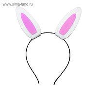 Набор для творчества создай ободок из фетра «Ушки зайки»