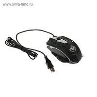 Мышь Dialog Gan-Kata MGK-05U, игровая, проводная, оптическая, подсветка, 1600 dpi,USB,черная