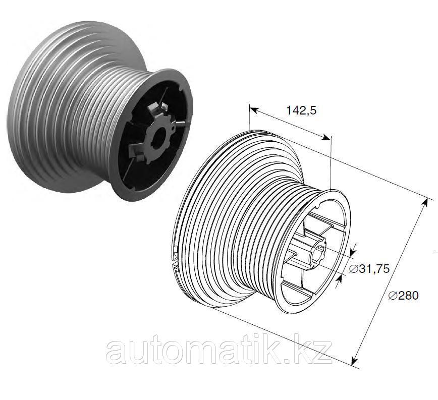 """Барабан для высокого подъема HL=4100 мм для вала 1,25"""""""