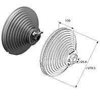 Барабан для вертикального подъема H=5512 мм