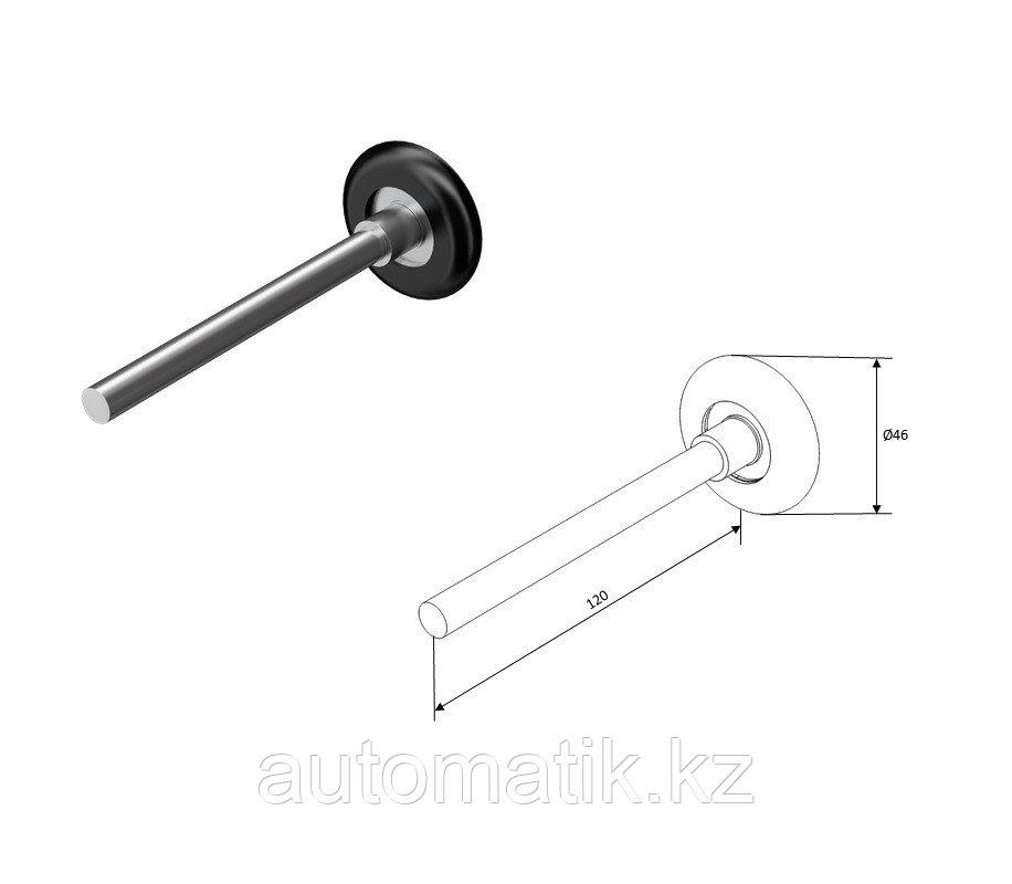 Ролик 120 мм для секционных ворот