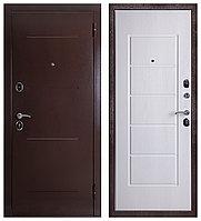 Дверь входная Ferroni Гарда 75 Антик Медь/Белый ясень