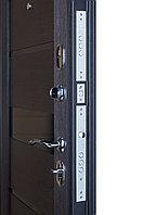 Дверь металлическая Ferroni Гарда Муар царга/Темный Кипарис