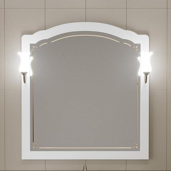Зеркало Opadiris Лоренцо 100 Белый матовый (Z0000008465)