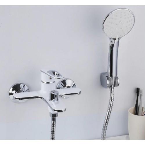Смеситель для ванны Frap F3249 белый