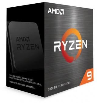 Процессор AMD Ryzen 9 5950X 3,4Гц (4,9ГГц Turbo) AM4, 7nm, 16/32, 3Mb L3 64Mb, 105W, WOF