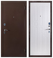 Дверь входная Ferroni Гарда 80 Антик Медь/Белый Ясень