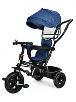 Велосипед трехколесный Tomix Baby Trike темно-синий