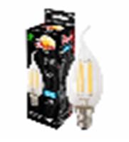 Лампа филаментная светодиодная Заря Свеча CF35, 6W, E14, 4200К
