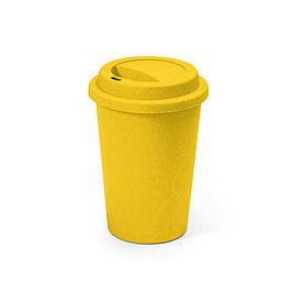 Термостакан из бамбука BACURI, желтый