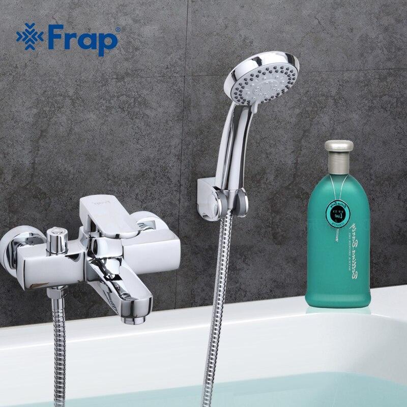 Смеситель для ванны Frap F3273 короткий