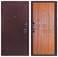 Дверь металлическая Ferroni Гарда 80 Антик Медь/Рустикальный дуб