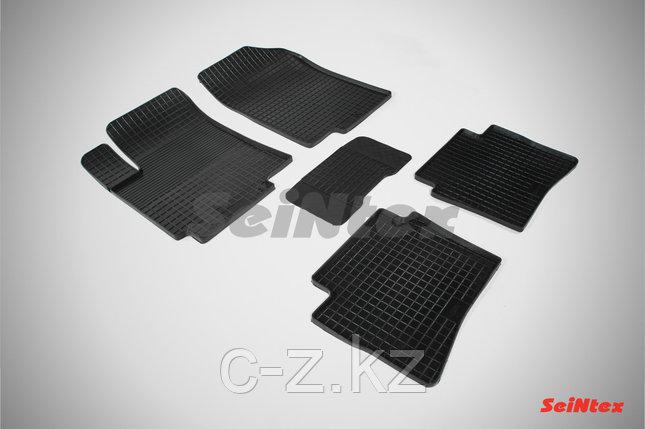 Резиновые коврики Сетка для KIA Rio III 2011-2017, фото 2