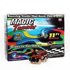 Детская игрушечная дорога Magic Tracks 165 деталей + машинка Интерактивные игрушки!, фото 2